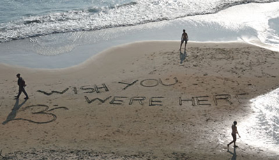 Strand Indien wish